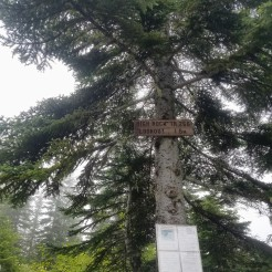 High Rock Trail head