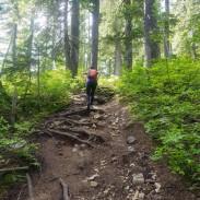 Hiking to Blanca Lake
