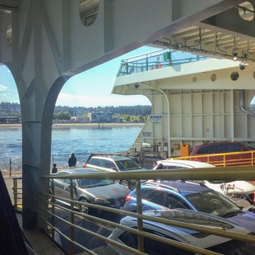 1st time on a ferry!